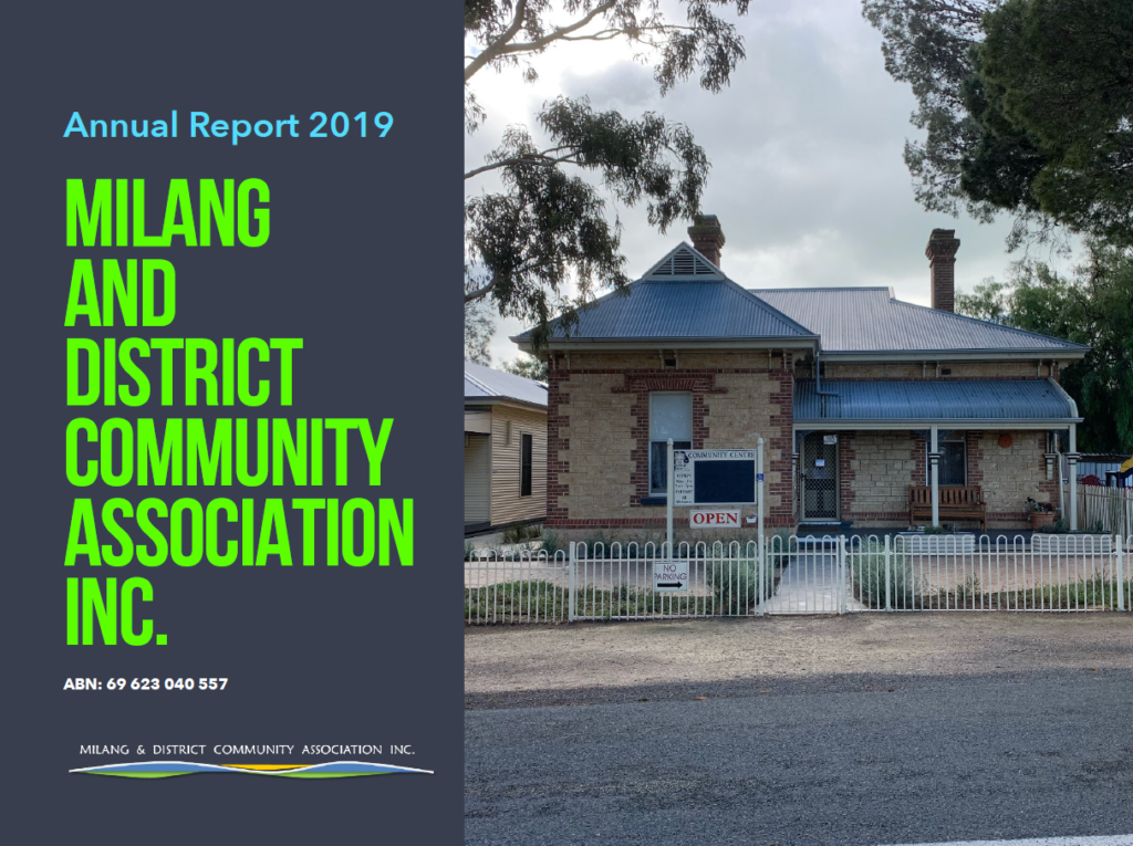 MADCA Annual Report 2019